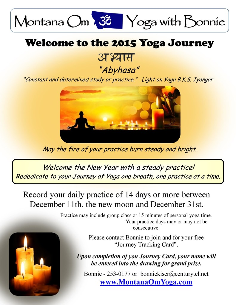 12-2015 Yoga Journey flyer